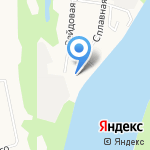 Вересники на карте Кирова