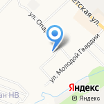 Добрянка на карте Кирова