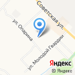 Лыжник на карте Кирова