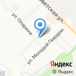 Наряжу-ха на карте Кирова