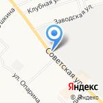 Деловой на карте Кирова