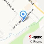 Золотой Ключ на карте Кирова