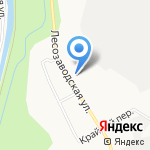 Чарка на карте Кирова