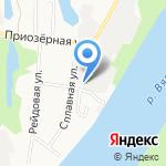 Уютный город на карте Кирова