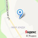 Вятка-Мебель на карте Кирова