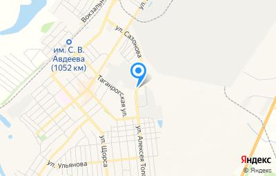 Местоположение на карте пункта техосмотра по адресу Самарская обл, г Чапаевск, ул Макаренко, д 18