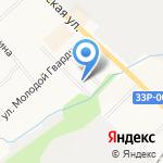 Нововятич на карте Кирова