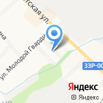 Нововятский водоканал на карте Кирова