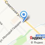 Факел на карте Кирова