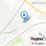Комвест на карте Кирова