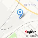 Нововятский на карте Кирова