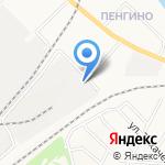 Нововятский район электросетей на карте Кирова