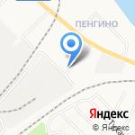 Аварийная служба Нововятского района на карте Кирова