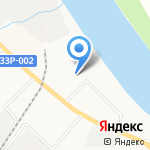 СДЮСШОР №8 на карте Кирова
