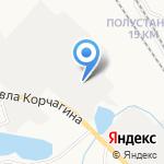Антонофф на карте Кирова