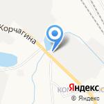 Промтара на карте Кирова