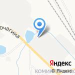 Коминтерн-обувь на карте Кирова