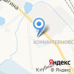 Пожарная часть №5 по охране заречной части Первомайского района на карте Кирова