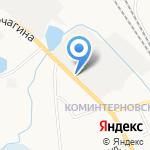 Лель на карте Кирова