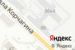 Схема проезда до компании Eva в Кирове
