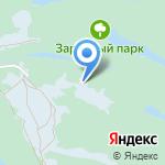 Заповедник сказок на карте Кирова