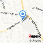 Вятское на карте Кирова