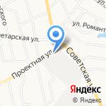 Магазин-кулинария на карте Кирова