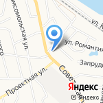 Магазин канцтоваров и печатной продукции на карте Кирова