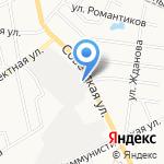 Алексий на карте Кирова