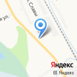 Магазин товаров повседневного спроса на карте Кирова