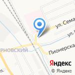 Скорая медицинская помощь на карте Кирова