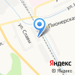 Сладкая Слобода на карте Кирова