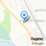 Заречное на карте Кирова