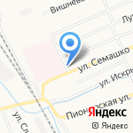 ВятСеверСтрой на карте Кирова