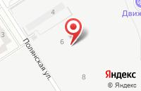 Схема проезда до компании Верхние Черёмушки в Шутовщиной