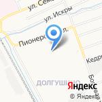 Веселая карусель на карте Кирова