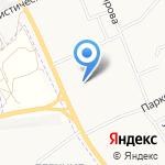 Средняя общеобразовательная школа №65 с углубленным изучением отдельных предметов на карте Кирова