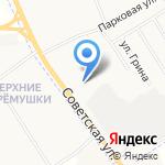 Лесная Компания Рубль на карте Кирова