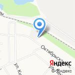 У моста на карте Кирова