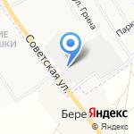 Магазин автозапчастей для грузовых автомобилей на карте Кирова
