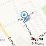 Магазин продуктов на карте Кирова