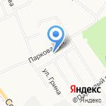 Нововятские районные электрические сети на карте Кирова