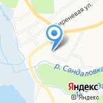 Макарьевские бани на карте Кирова
