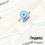 Квартал Диванов на карте Кирова