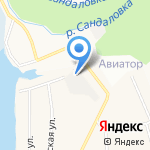 Эвио на карте Кирова