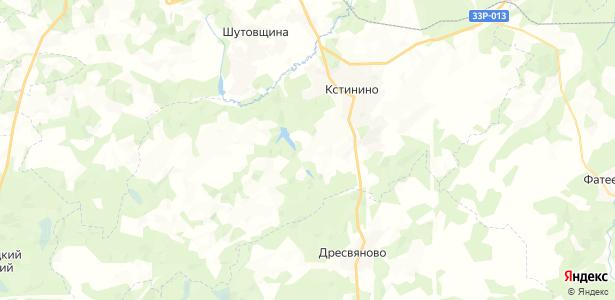 Голодница на карте