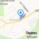 Троицкая церковь на карте Кирова