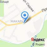 Магазин цветов и ритуальных принадлежностей на карте Кирова