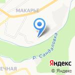 Детский сад №46 на карте Кирова