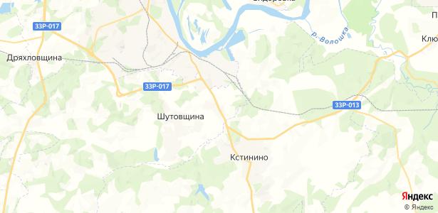 Прошино на карте